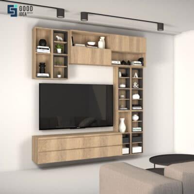 ชุดตู้โชว์ทีวีสวยๆ
